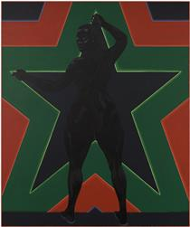 Black Star 2 - Kerry James Marshall