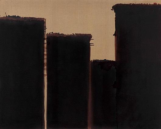 Burnt Umber & Ultramarine, 1991 - Yun Hyong–keun