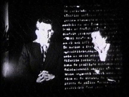 Dialogue with Ceausescu, 1978 - Ion Grigorescu
