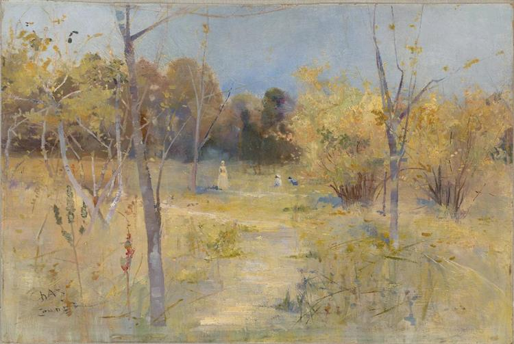 Summer Idyll, 1889 - Charles Conder