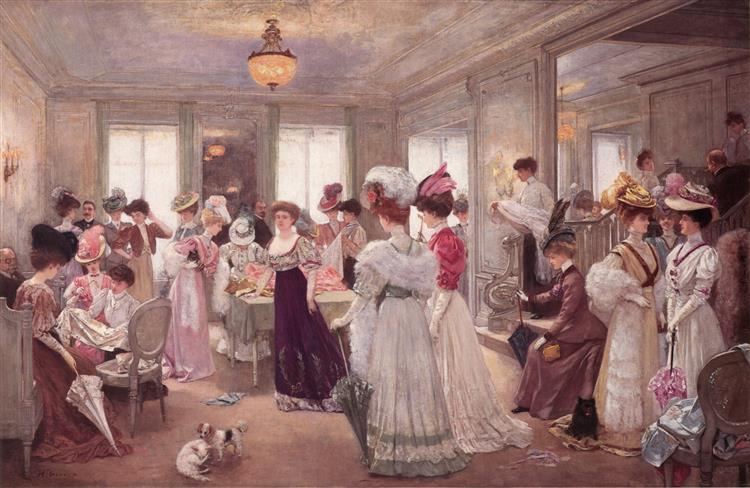 Five Hours at Paquin, 1906 - Henri Gervex