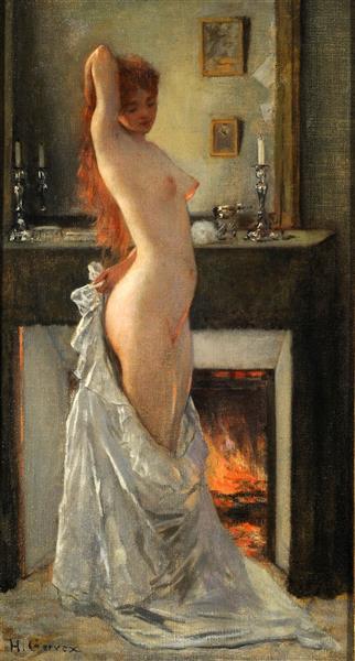 Parisian Woman at Her Toilet - Анри Жерве