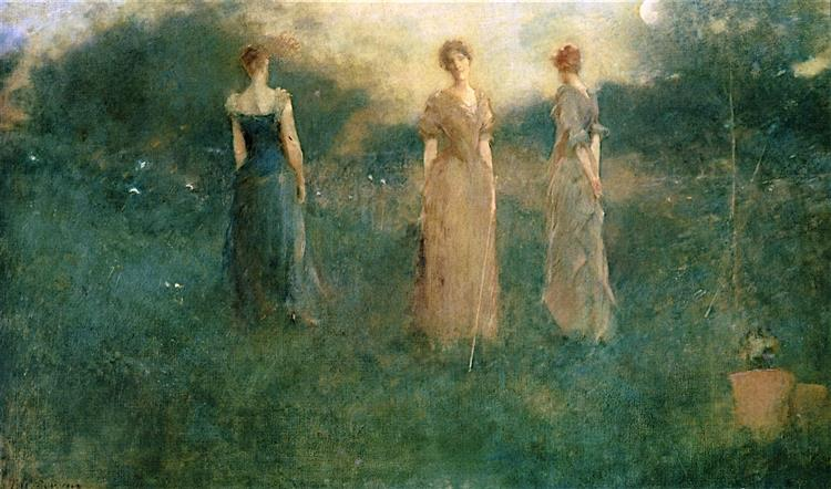 In the Garden, 1894 - Thomas Dewing