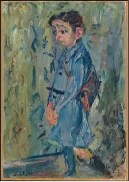 School Boy in Blue, 1937 - Chaïm Soutine