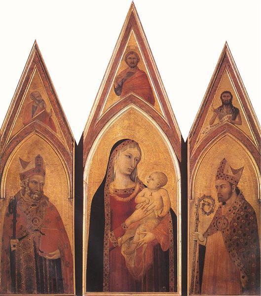 Altarpiece of St Proculus - Ambrogio Lorenzetti