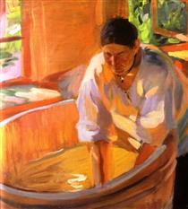 Laundress - Oleksandr Muraschko