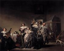 Gallant Company - Pieter Codde