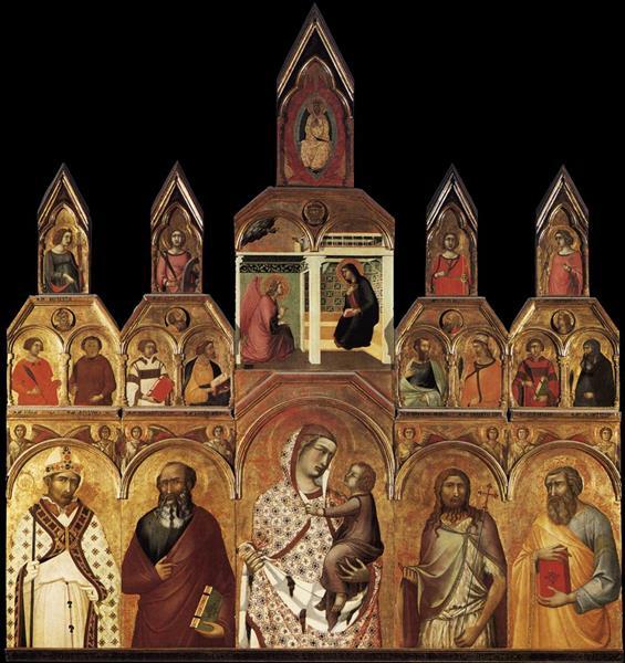 Polyptyque Tarlati, 1320 - Pietro Lorenzetti