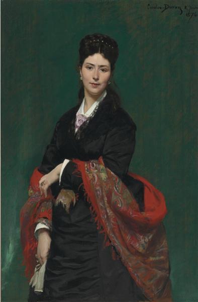 Portrait of Madame Marie Clerc, 1874 - Carolus-Duran