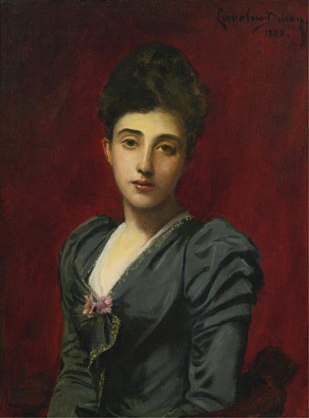 Portrait of the Countess Lily De Roussy De Sales, 1888 - Carolus-Duran