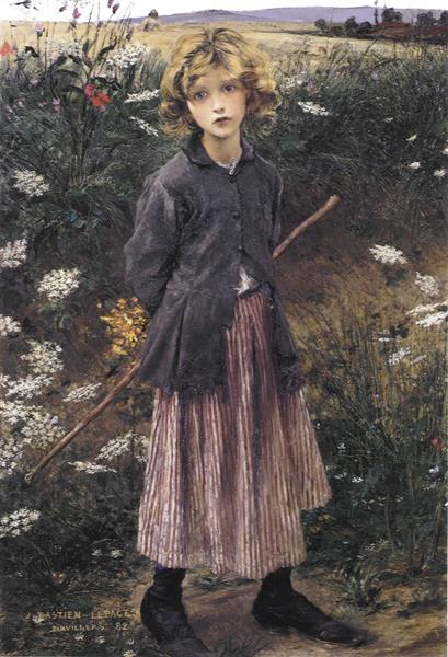 Young Girl, 1882 - Jules Bastien-Lepage