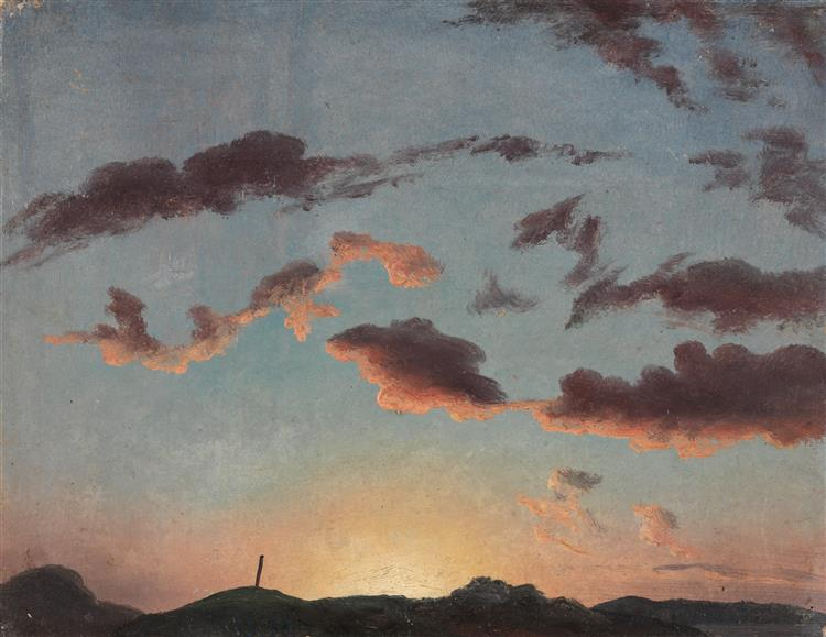 Cloud Study, 1838 - Knud Baade