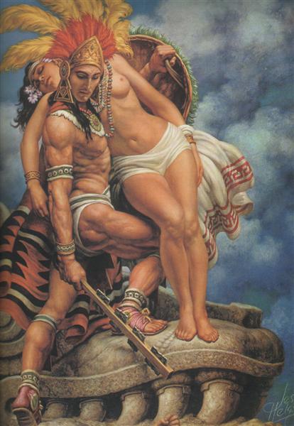 Helgue Grandeza Azteca 61 - Jesus Helguera