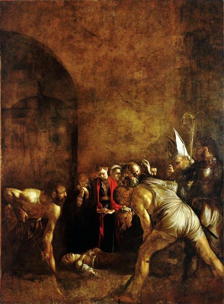 Burial of Saint Lucy, 1608 - Caravaggio
