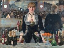Un bar al Folies-Bergere - Edouard Manet
