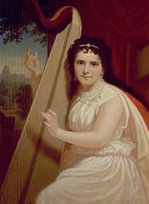Portrait of Vinnie Ream (1846-1914) - George Caleb Bingham
