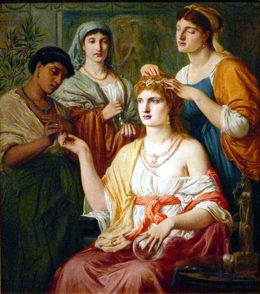 Toilet of a Roman Lady, 1869 - Simeon Solomon