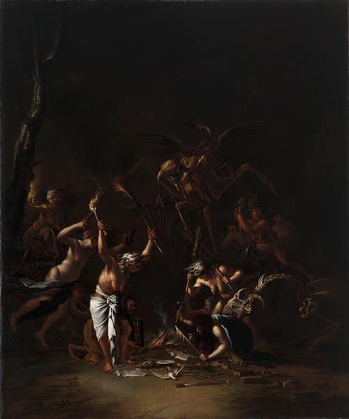 the Witches' Sabbath, 1654 - Salvator Rosa