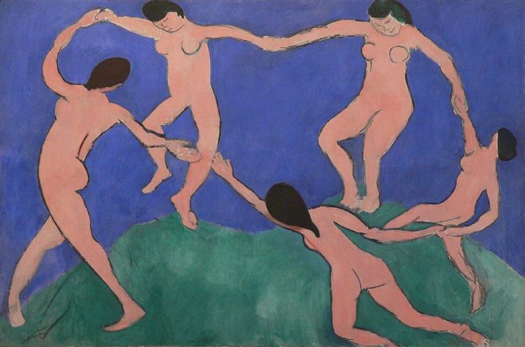Dance (I), 1909 - Henri Matisse
