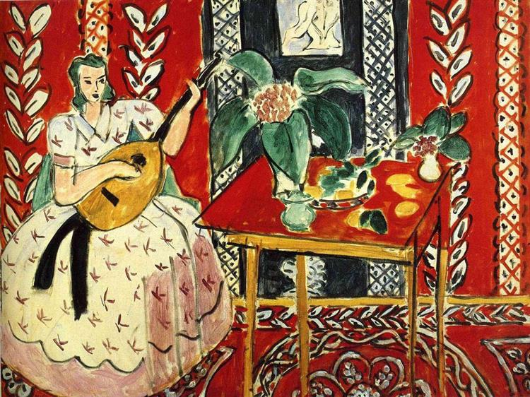 The Lute, 1943 - Henri Matisse