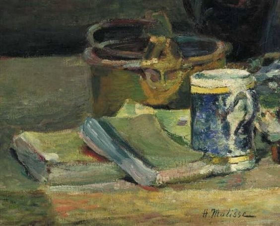 Still Life with Books, 1895 - Henri Matisse