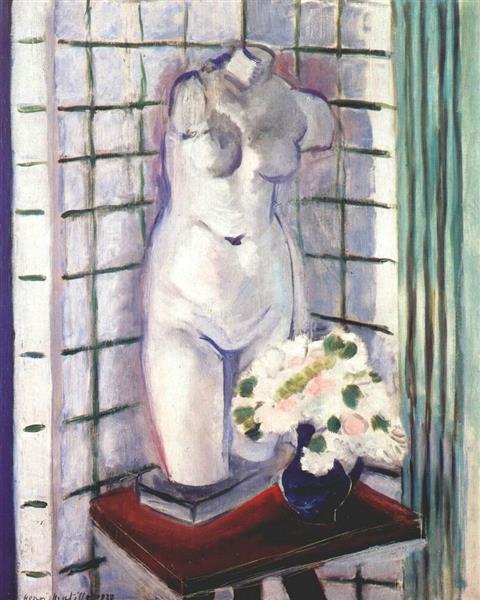 Still Life with Plaster Torso, 1928 - Henri Matisse