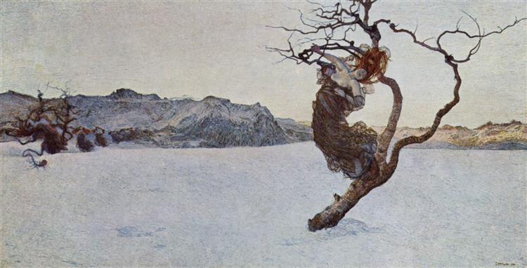 The evil mothers, 1894 - Giovanni Segantini