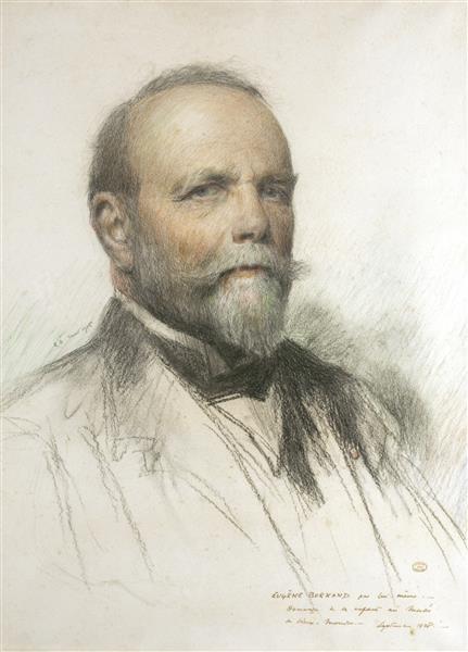 Self Portrait, 1915 - Eugène Burnand