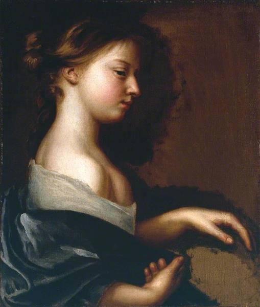 Portrait of a Young Girl, c.1681 - Mary Beale