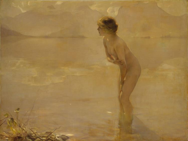 September Morn, 1911 - Paul Émile Chabas