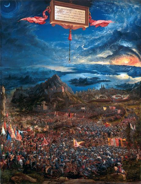 The battle of Issus - Albrecht Altdorfer