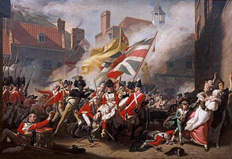 The Major Peirson's Death, 1782 - 1784 - John Singleton Copley