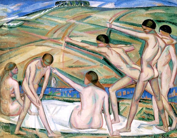 Archers, 1911 - Alice Bailly