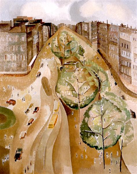 The Avenue, 1921 - 1923 - Alice Bailly