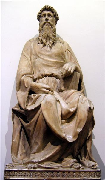 San Giovanni Evangelista, 1408 - 1415 - Donatello