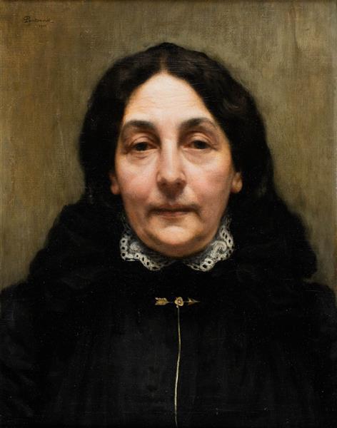 Portret Pani P., 1901 - Józef Pankiewicz