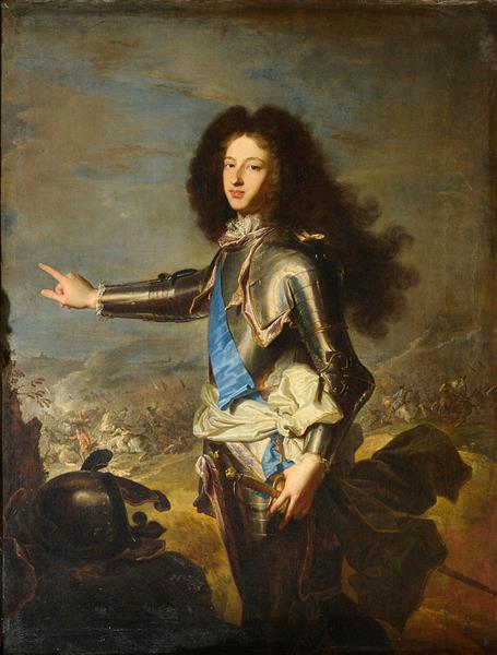 Louis De France, Duc De Bourgogne - Hyacinthe Rigaud