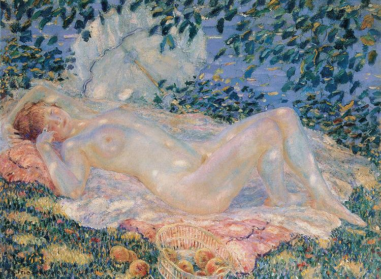 Autumn, 1914 - Frederick Carl Frieseke