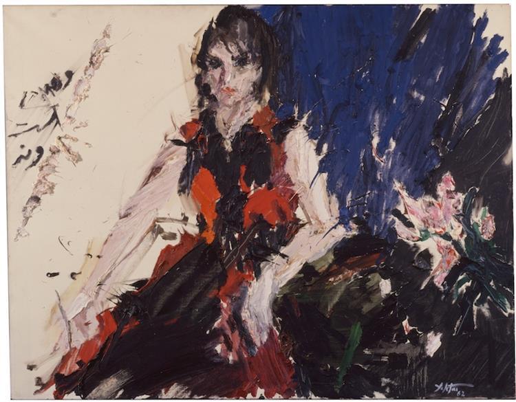 Untitled, 1962 - Manoucher Yektai