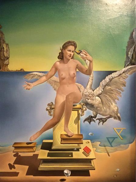 Leda Atomica, 1949 - Salvador Dali