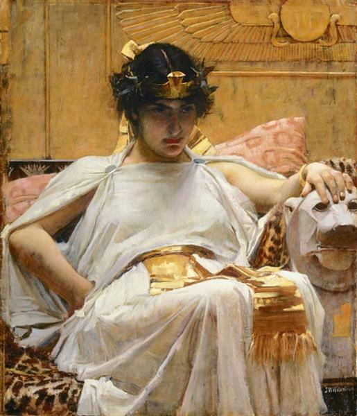 Cleopatra, c.1887 - John William Waterhouse