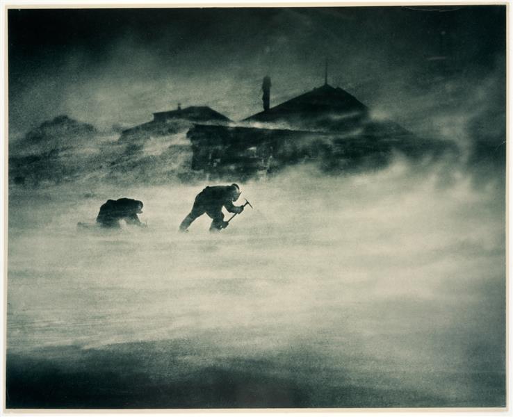 Blizzard at Cape Denison - Frank Hurley