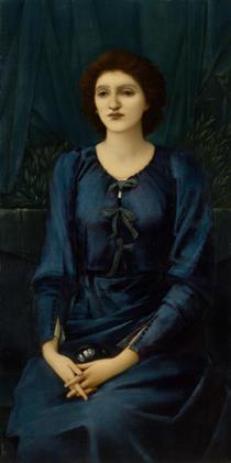 Baronne Deslandes - Edward Burne-Jones