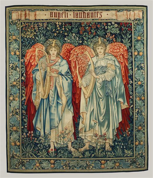 Angeli Laudantes, 1898 - Edward Burne-Jones