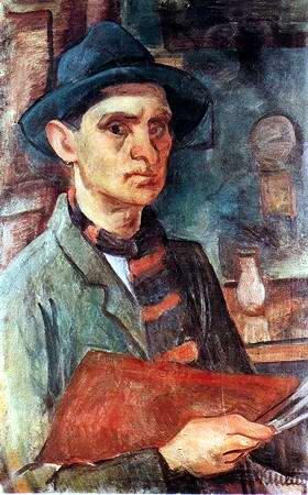 Self-Portrait, c.1930 - Kmetty János