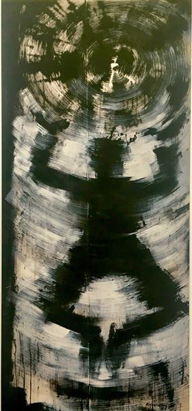 Jumping Shadowman, 1983, 1983 - Richard Hambleton