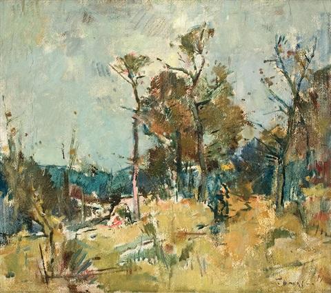 Landscape - Teodor Harșia