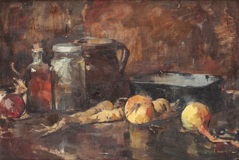 Still life from the kitchen - Teodor Harșia