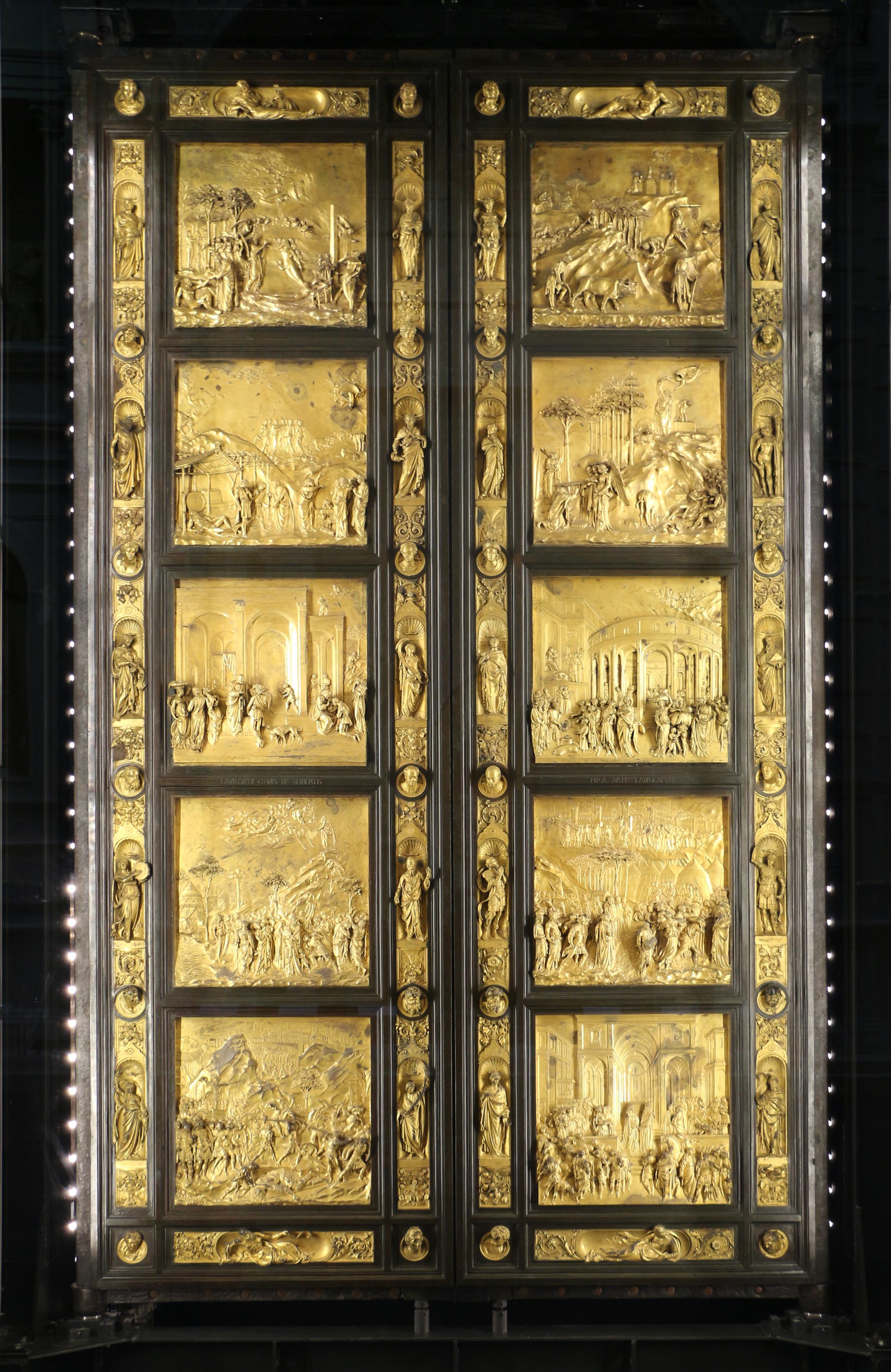 Door of the Paradise 1425 - 1452 - Ghiberti & Door of the Paradise 1425 - 1452 - Ghiberti - WikiArt.org