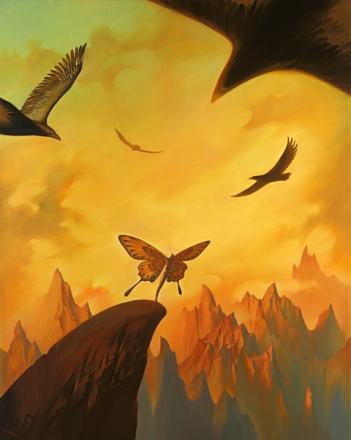 Claws of Fate - Vladimir Kush